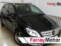 Mercedes Clase B 200CDI 136Cv BlueEFFICIENCY Negro