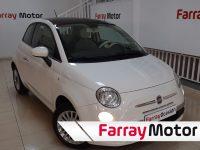 Fiat 500 Lounge 1.2 69CV Blanco