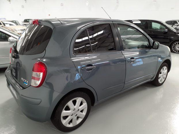 Nissan Micra 1.2 80CV 5P Acenta Gris Tungsteno full