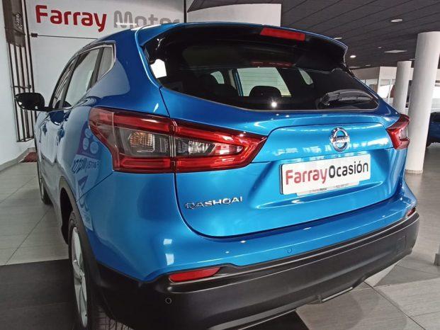 Nissan Qashqai Acenta DIG-T 115 CV Azul full