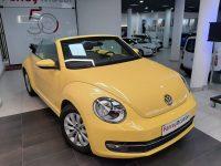 Volkswagen Beetle Cabrio 1.2 6 Vel. Amarillo