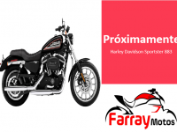 Harley Davidson Sportster Negra