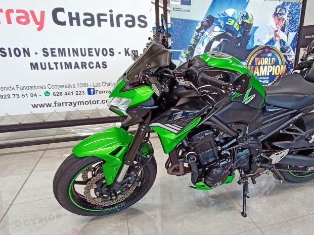 Kawasaki Z900 Negra y Verde Carnet A2 full