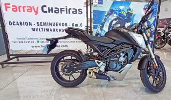 Honda CB125R Plata full