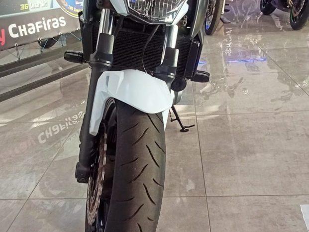 Kawasaki Z650 Blanca y Verde Limitada Carnet A2 full