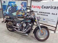 Harley Davidson Fat Boy 1450 Negra