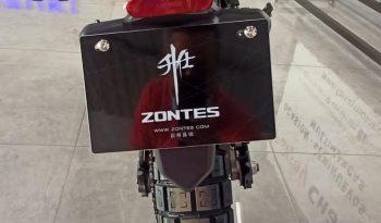 Zontes U1 125 Nueva Negra y Amarilla full