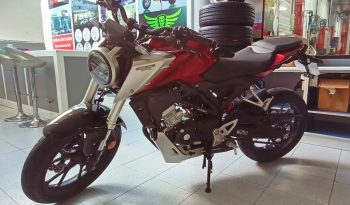 Honda CB125R Roja Granate full