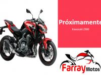 Kawasaki Z900 Roja y Negra Carnet A2