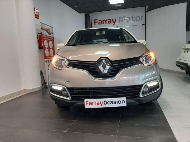 Renault Captur 1.2 TCE 120 CV EDC Automático Beige full